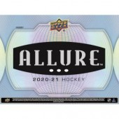 2020/21 Upper Deck Allure Hockey Hobby 10 Box Case