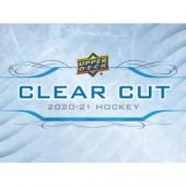 2020/21 Upper Deck Clear Cut Hockey Hobby Box