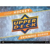 2020/21 Upper Deck Extended Series Hockey Fat Pack Box