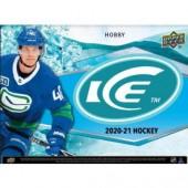 2020/21 Upper Deck Ice Hockey Hobby Box