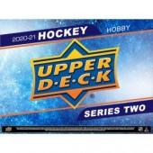 2020/21 Upper Deck Series 2 Hockey Hobby Box