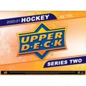 2020/21 Upper Deck Series 2 Hockey Retail 20 Box Case