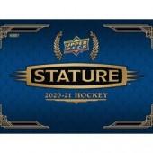 2020/21 Upper Deck Stature Hockey Hobby 16 Box Case