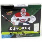 2020/21 Upper Deck Synergy Hockey Hobby 10 Box Case