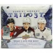 2020/21 Upper Deck Trilogy Hockey Hobby 10-Box Case