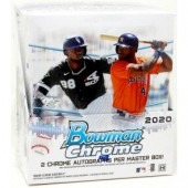 2020 Bowman Chrome Baseball Hobby 12 Box Case