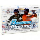 2020 Bowman Chrome Baseball HTA Choice 12 Box Case