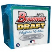 2020 Bowman Draft Baseball Sapphire Edition Box