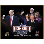2020 Decision Trading Cards 16 Box Case