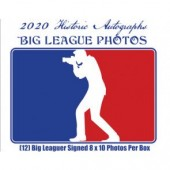 2020 Historic Autographs Big League Photos Autograph Edition Baseball 12 Box Case