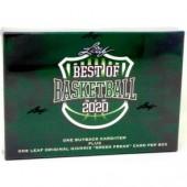 2020 Leaf Best of Basketball 10 Box Case