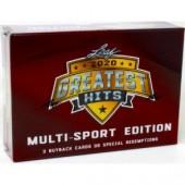 2020 Leaf Greatest Hits Multi-Sport Edition 3 Box Case