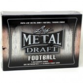 2020 Leaf Metal Draft Football Jumbo 8 Box Case
