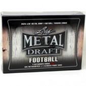 2020 Leaf Metal Draft Football Jumbo Box