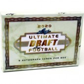 2020 Leaf Ultimate Draft Football Hobby Box