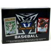 2020 Leaf Valiant Baseball Hobby 12 Box Case
