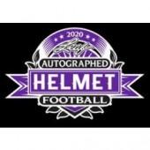 2020 Leaf Autographed Full Sized Helmet Football Box