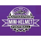 2020 Leaf Autographed Mini Helmet Football Box