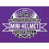 2020 Leaf Autographed Mini Helmet Football 10 Box Case