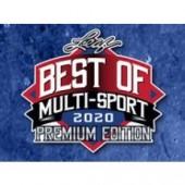 2020 Leaf Best of Multi-Sport Premium Edition Box