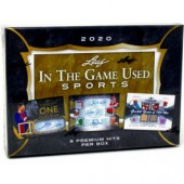 2020 Leaf In The Game (ITG) Game Used Sports 10 Box Case