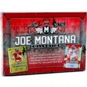 2020 Leaf Metal Joe Montana Collection Football Hobby Box