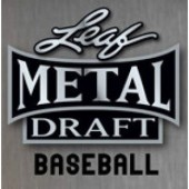 2020 Leaf Metal Draft Baseball Hobby 12 Box Case