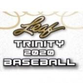 2020 Leaf Trinity Baseball Hobby Box