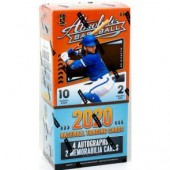 2020 Panini Absolute Baseball Hobby 10 Box Case