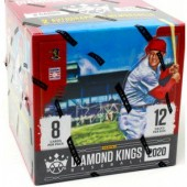 2020 Panini Donruss Diamond Kings Baseball Hobby 12 Box Case