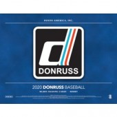 2020 Panini Donruss Baseball Hobby 16 Box Case