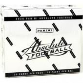 2020 Panini Absolute Football Fat Pack Box