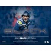 2020 Panini Black Football Hobby 12 Box Case