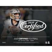 2020 Panini Certified Football Hobby 12 Box Case