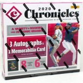 2020 Panini Chronicles Baseball Hobby 16 Box Case