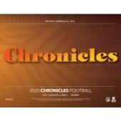 2020 Panini Chronicles Football Hobby 12 Box Case
