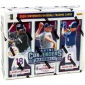 2020 Panini Contenders Baseball Hobby 12 Box Case