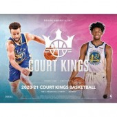 2020/21 Panini Court Kings Basketball Hobby Box