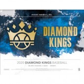2020 Panini Donruss Diamond Kings Baseball Hobby 24 Box Case