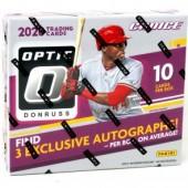 2020 Panini Donruss Optic Choice Baseball 20 Box Case