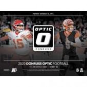 2020 Panini Donruss Optic Football Hobby Hybrid 20 Box Case