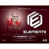 2020 Panini Elements Football Hobby 12 Box Case