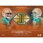 2020 Panini Illusions Football Hobby 8 Box Case