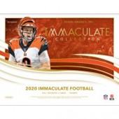 2020 Panini Immaculate Football Hobby 6 Box Case