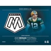 2020 Panini Mosaic Football No Huddle 20 Box Case