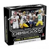 2020 Panini Obsidian Draft Picks Football Hobby 12 Box Case