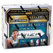 2020/21 Panini Prizm Basketball Fast Break 20 Box Case