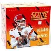 2021 Panini Score Football Hobby 12 Box Case