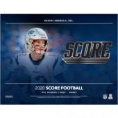 2020 Panini Score Football Hobby 12 Box Case