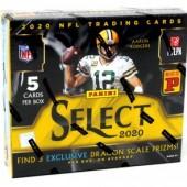 2020 Panini Select Football Tmall Edition 20 Box Case